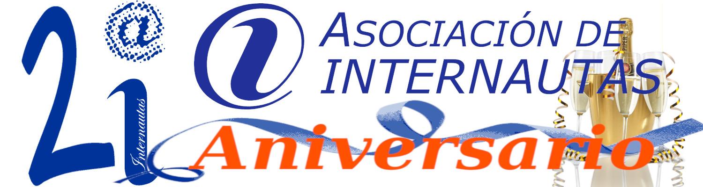 21 cumpleaños de la Asociación de INternautas
