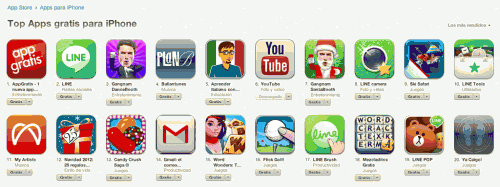 Top 20 apps gratuitas para iPhone