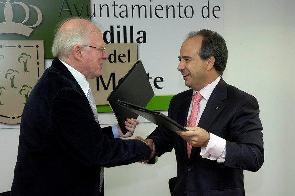 Eduardo Bautista en el Ayuntamiento de Boadilla
