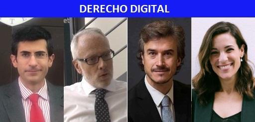 4 expertos en derecho digital