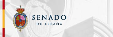 Logo Senado español