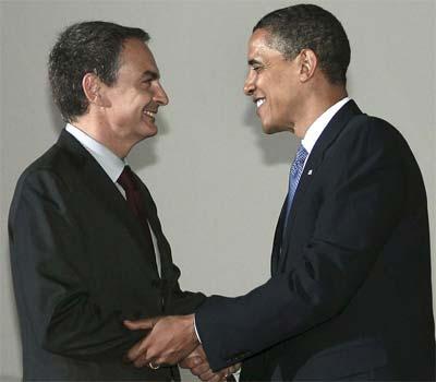 Internet: un problema en la relación Zapatero-Obama