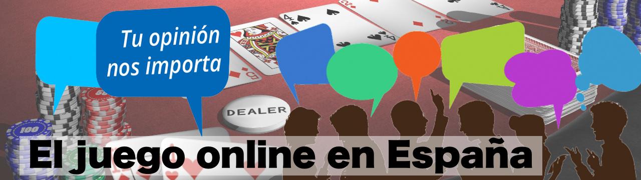 Consulta opinion sobre el juego online en España