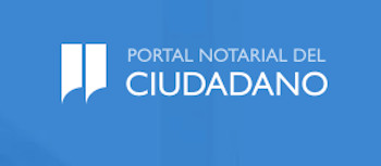 Logo portal notariado