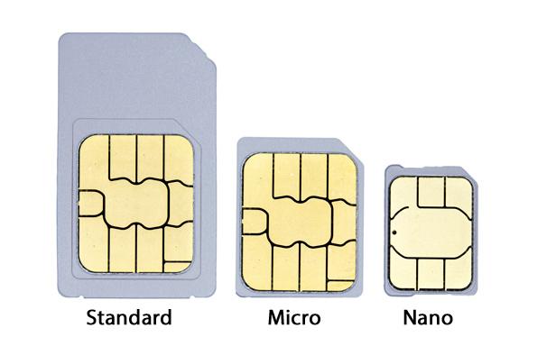 tipos de tarjeta SIM