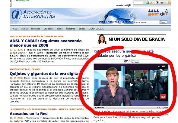 Internautas Televisión en Internautas.org