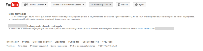 youtube restriccion2