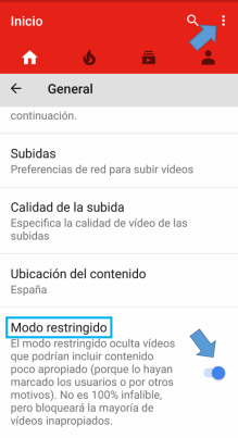 youtube restriccion4